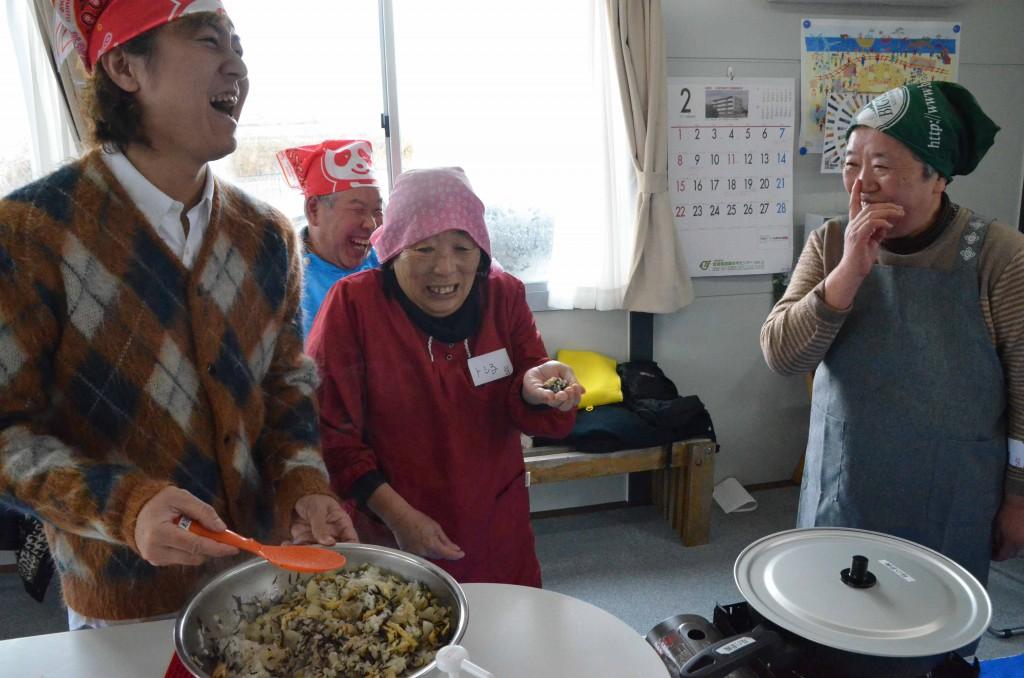 仮設押切沼団地 味の素健康セミナー3